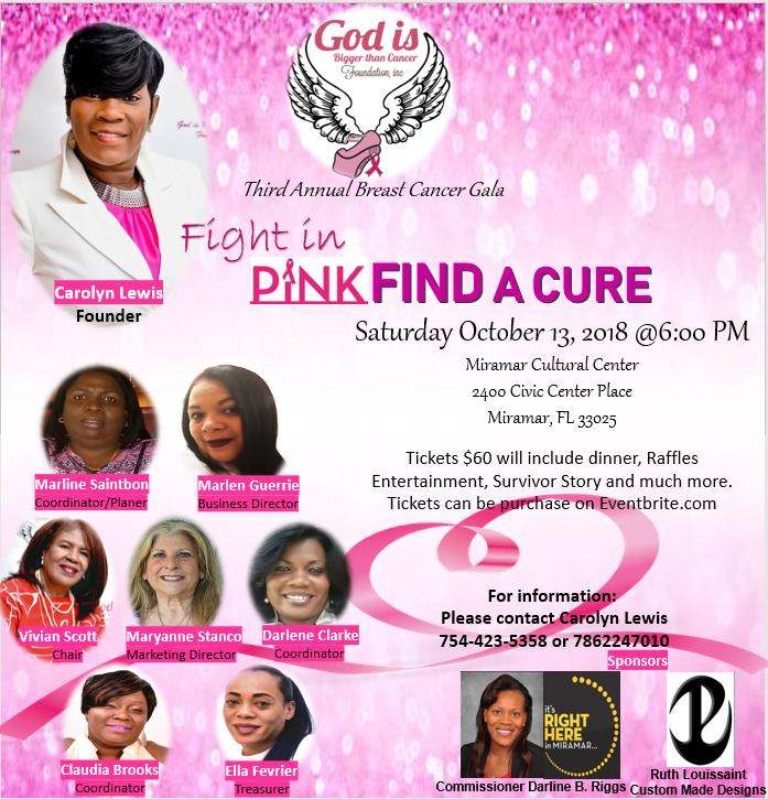 We invite you to the 3rd Annual Breast Cancer Gala!