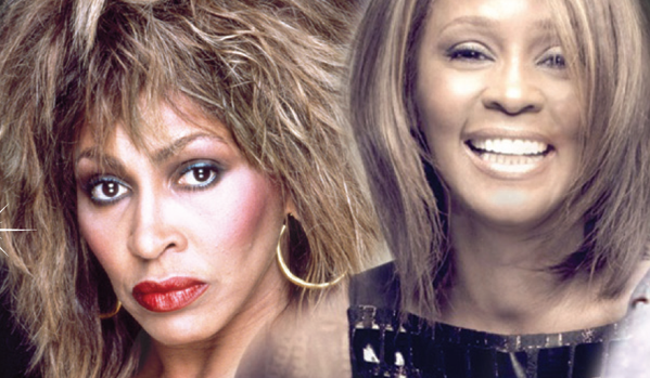 tina turner and whitney houston tribute
