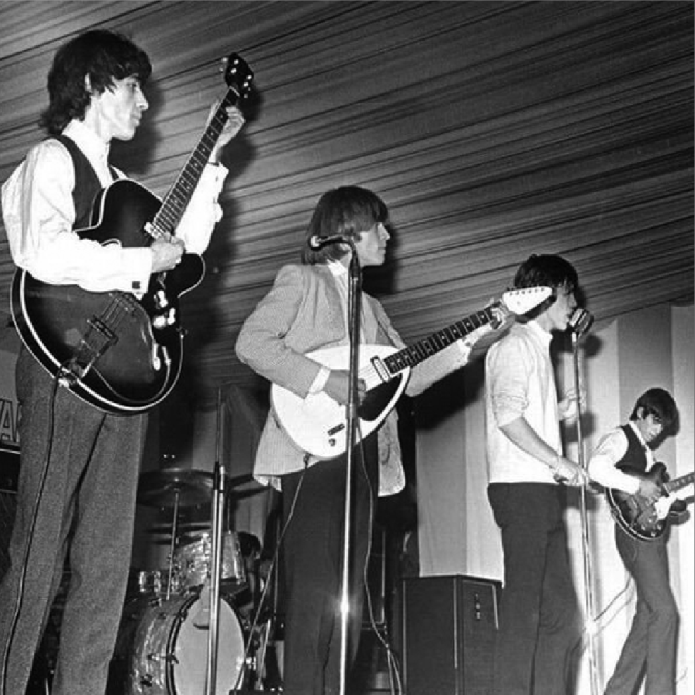The Stones at the Richmond Jazz & Blues Festival 1963