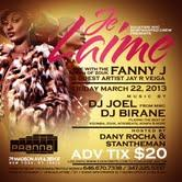 "FANNY J ""Queen of Zouk"" Live @ Pranna NYC - Frid. March 22,..."
