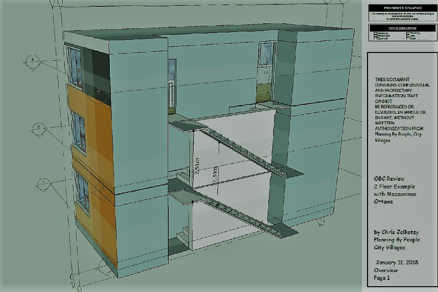 Chris Jalkotzy architectural technologist triplex-sixplex