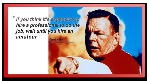 Red Adair, oil firefighter