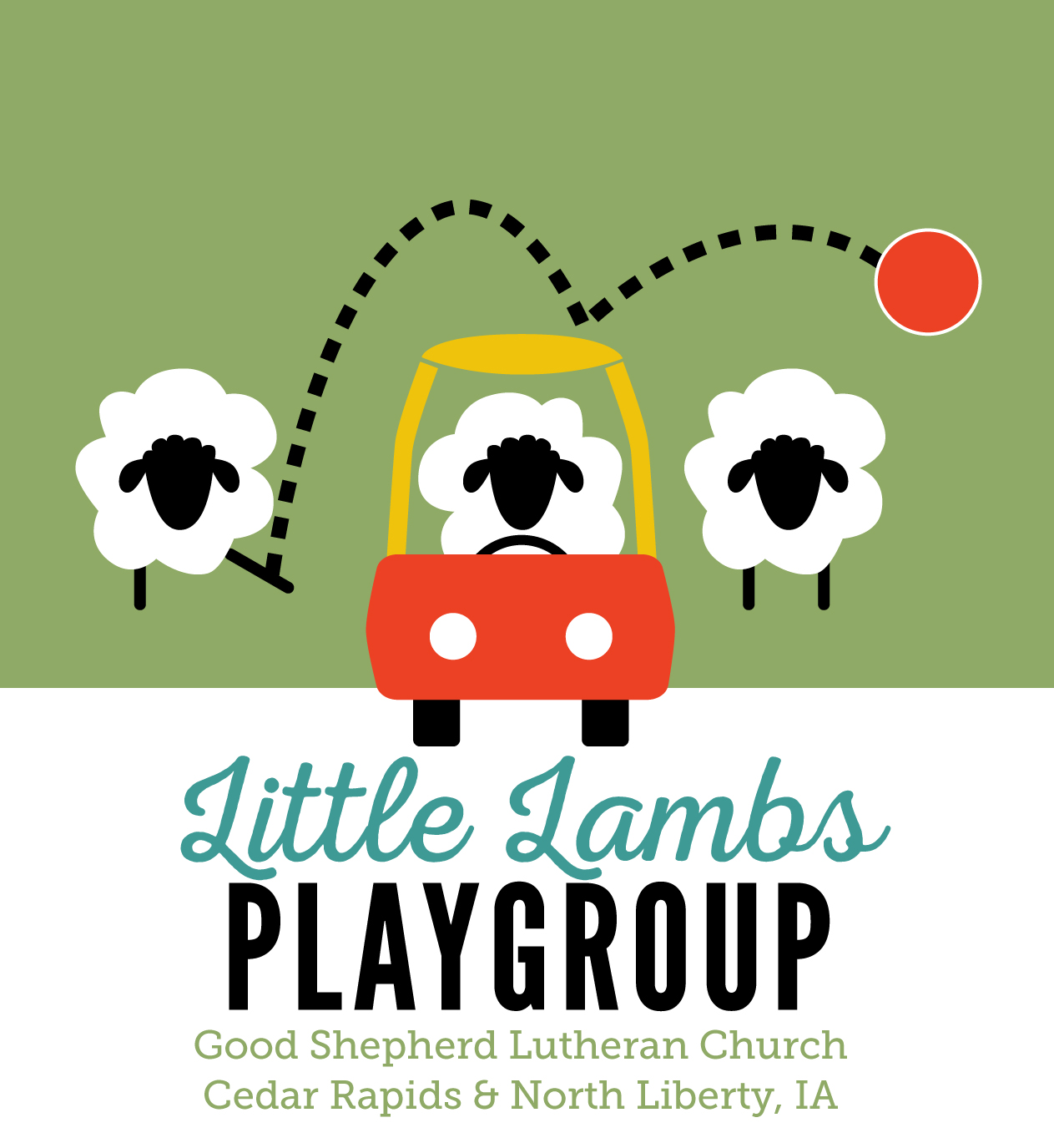 Little Lambs Playgroup Flyer