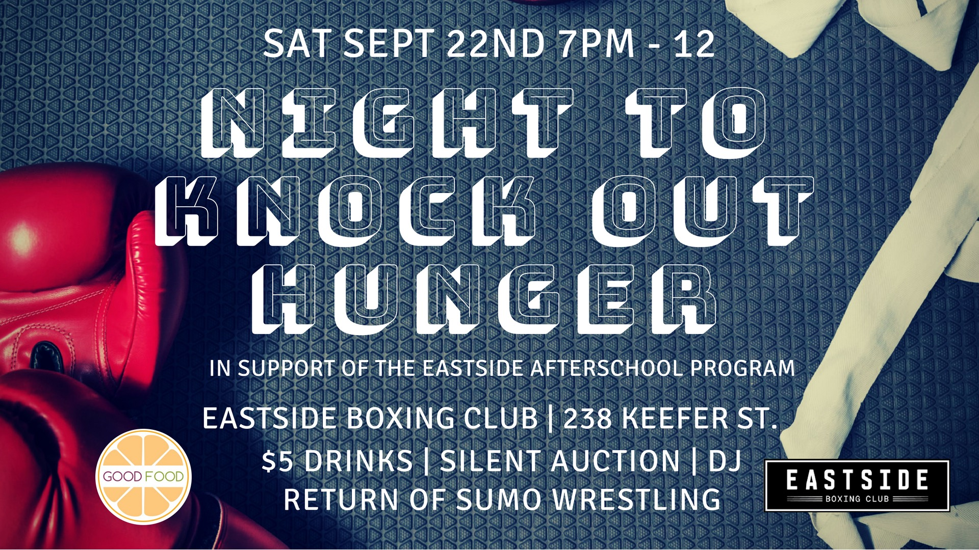 2018 Night to Knock Out Hunger Invitation