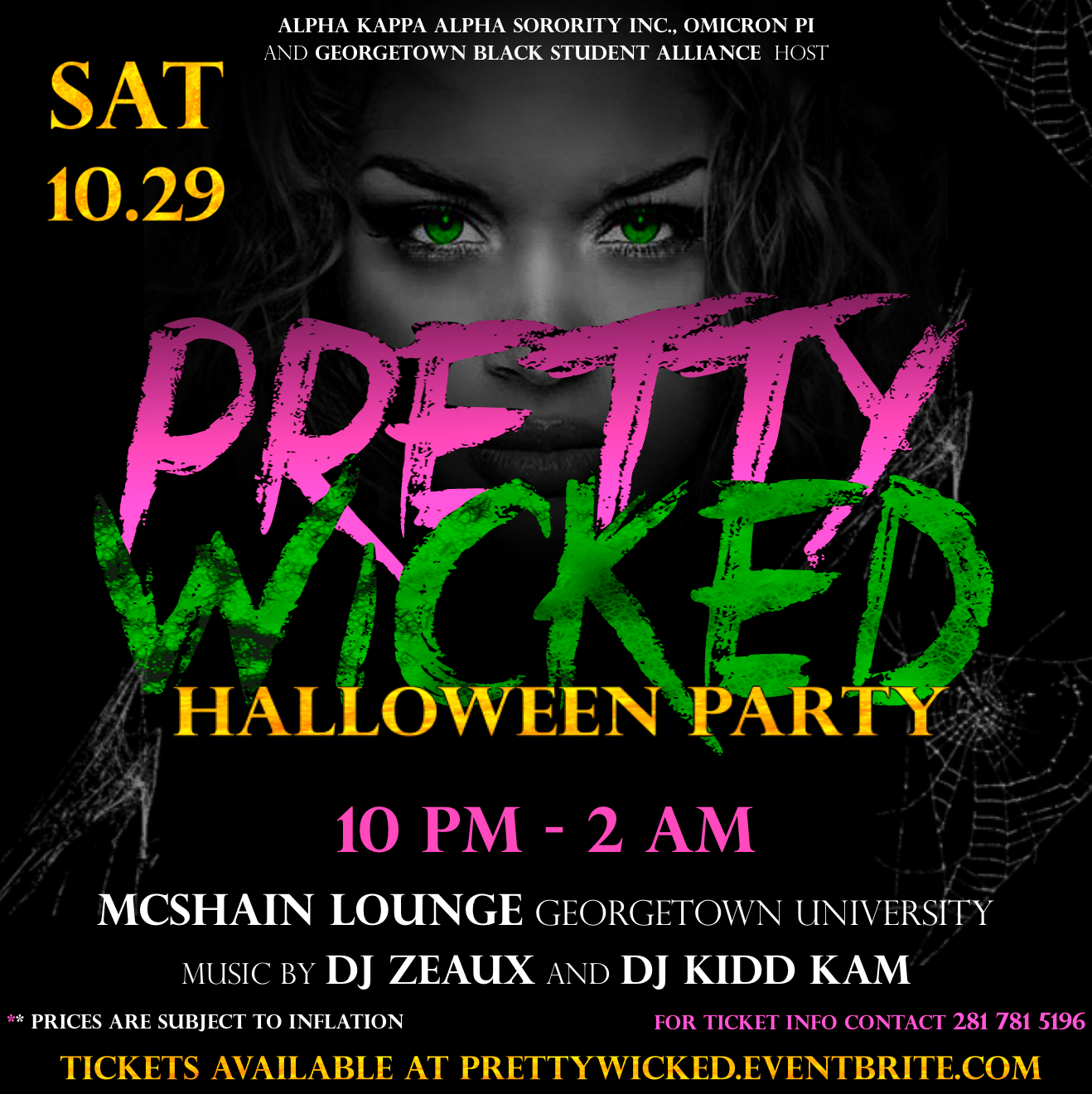 Pretty Wicked Halloween Party Tickets, Sat, Oct 29, 2016 at 10:00 ...