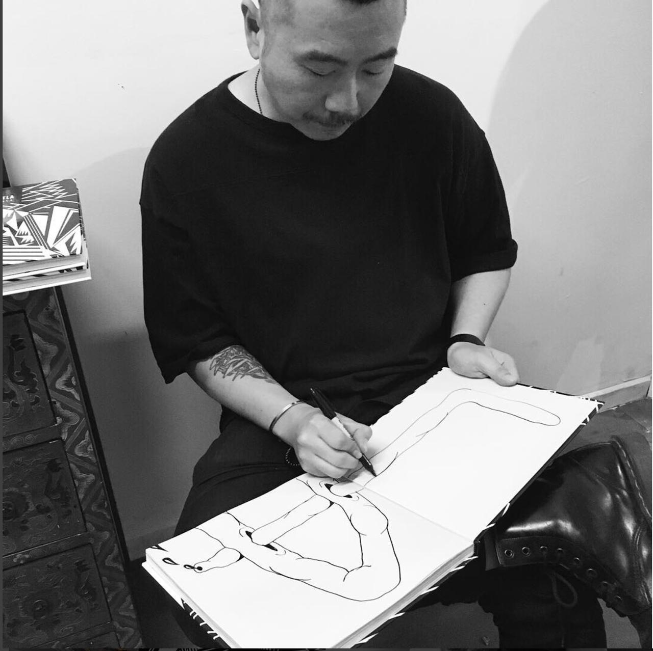 Tommii Lim w signed DTLA book