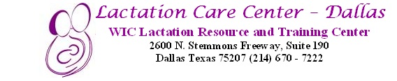 Lactation Care Center of Dallas logo