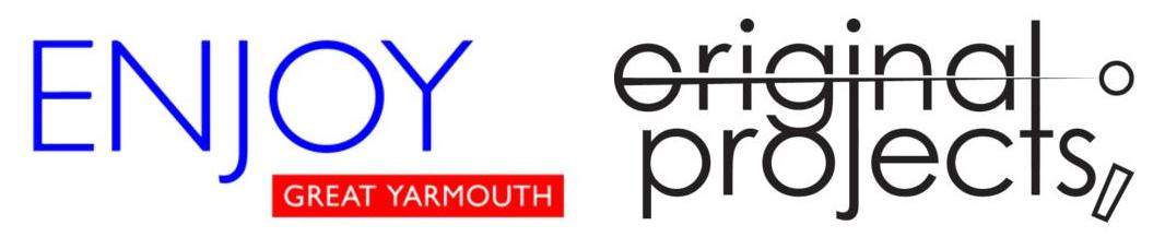ENJOY Great Yarmouth and originalprojects logo