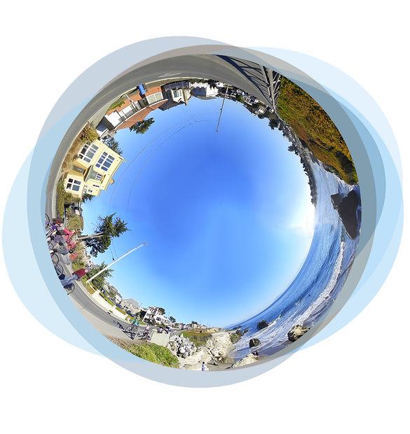 Building Carbon Zero Monterey Bay Fisheye