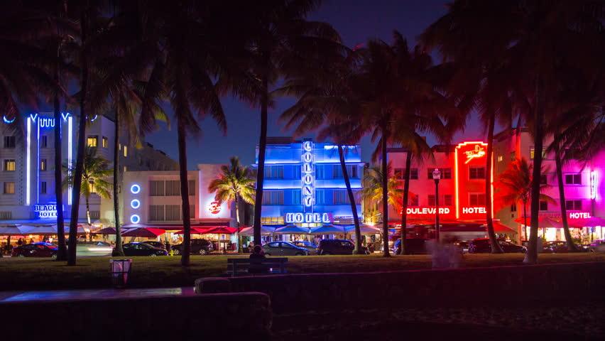 South Beach Miami Night The Best Beaches In World