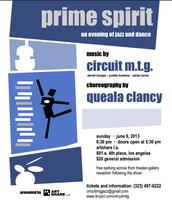 "PRIME SPIRIT ""An evening of live Jazz and Dance"""