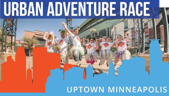Urban race in Uptown