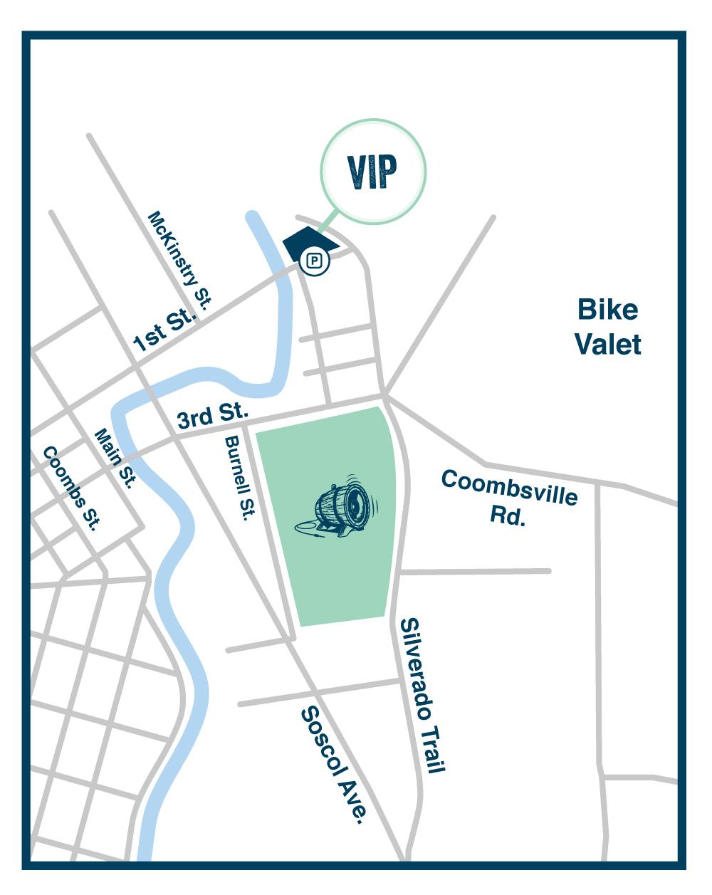VIP Parking BottleRock 2017 Tickets Fri May 26 2017 at 1030 AM