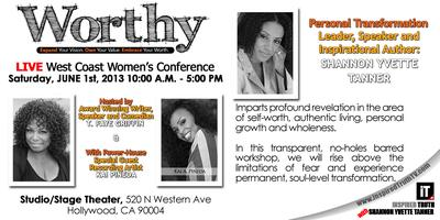 """Worthy"" West Coast Women's Conference - Expand Your Vision. Own..."