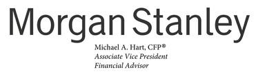 Morgan Stanley Michael Hart Logo