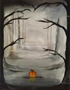 October pumpkin Painting