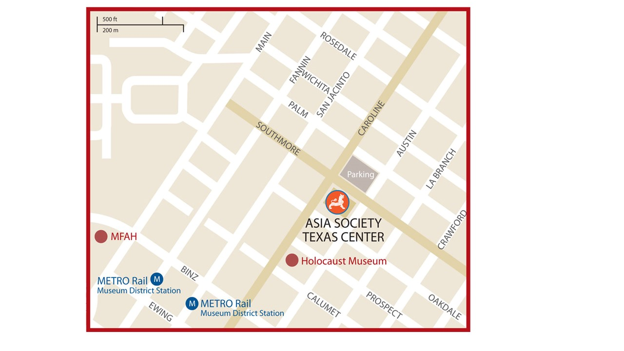 Asia Society Parking Map