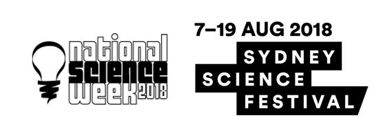 National Science Week & SSF logos