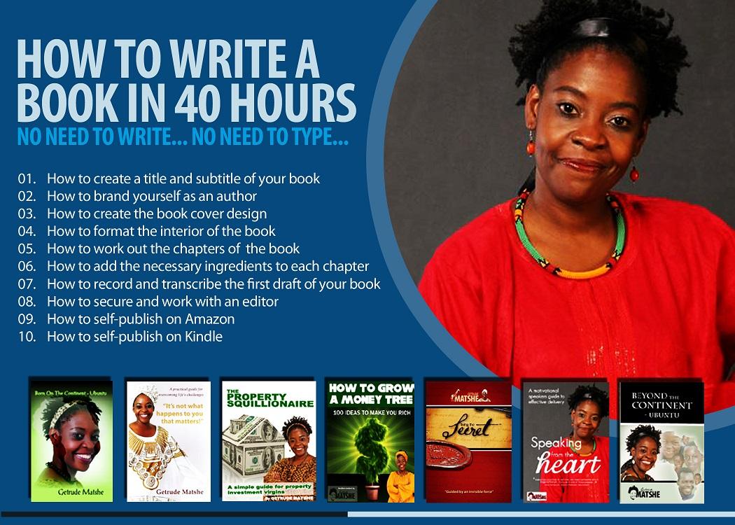 Write a book workshop