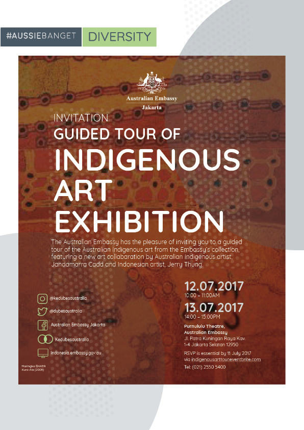 Guided Tour of Indigenous Art Exhibition
