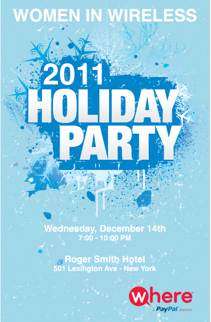 women in wireless, holiday party, roger smith hotel, where inc