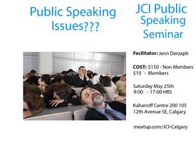 JCI Calgary Presents: National Effective Speaking Program