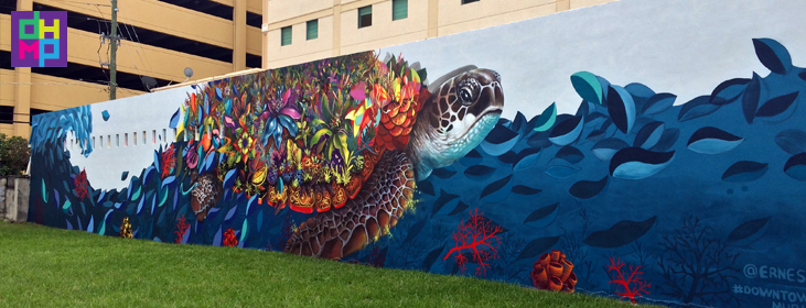 Exploring broward county s public art design program for Downtown hollywood mural project