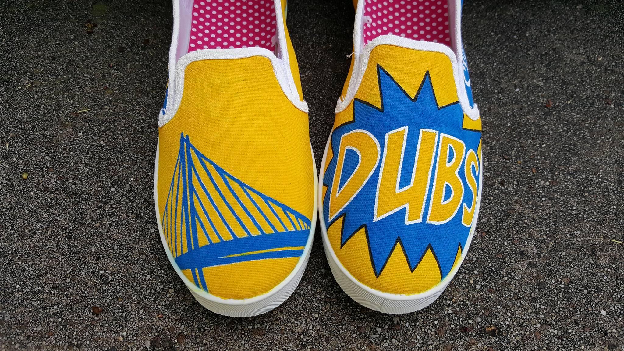 Warriors top of shoe