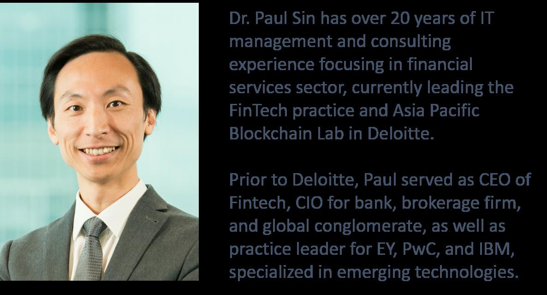 Dr Paul Sin - Pic & Bio