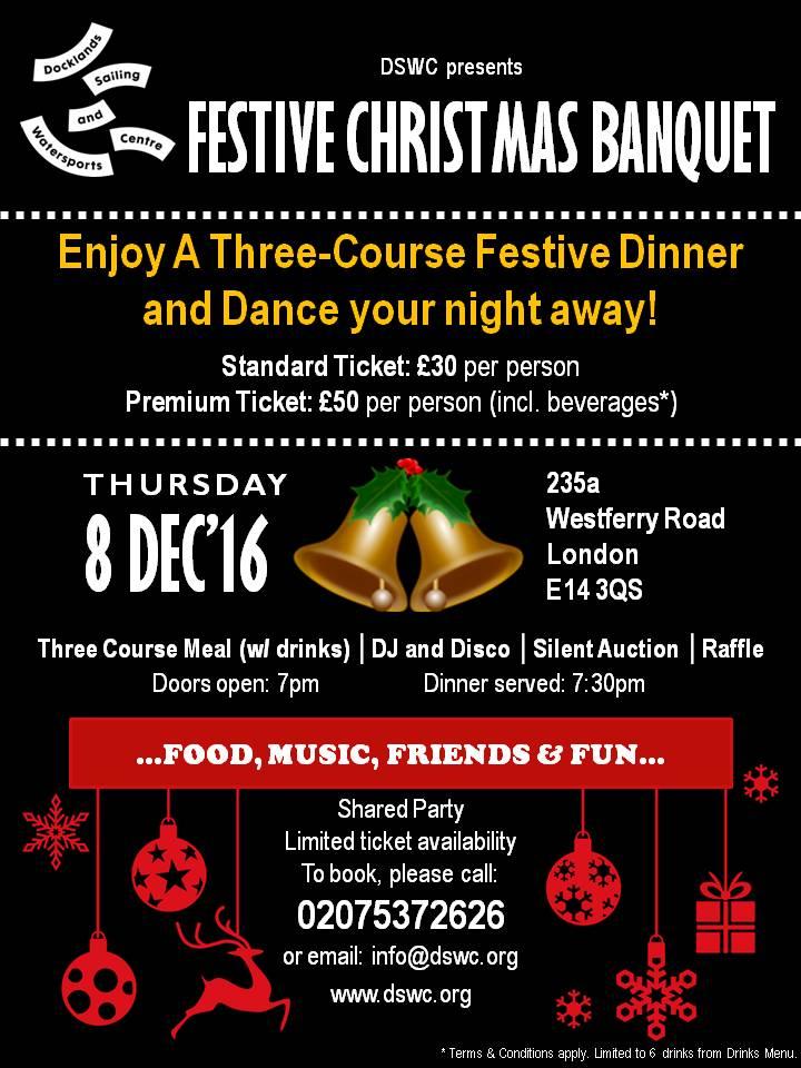 Festive Christmas Banquet
