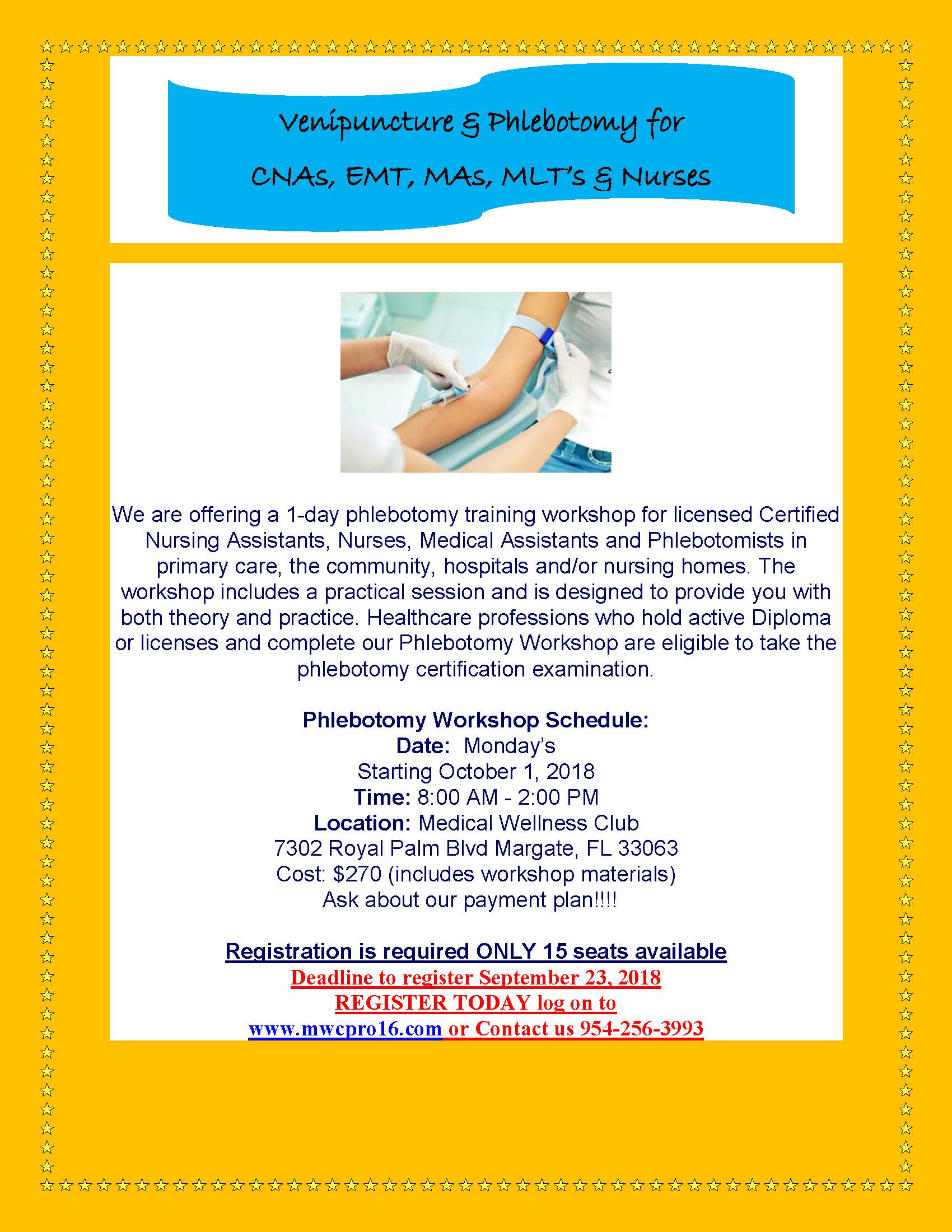 Venipuncture Phlebotomy For Cnas Mas Nurses Registration