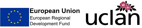 ERDF and Uclan Logo
