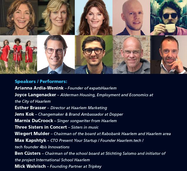 Haarlem Connect 2016 Speakers