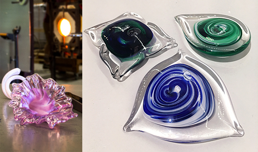 Wimberley Glassworks Glass Class Paperweight