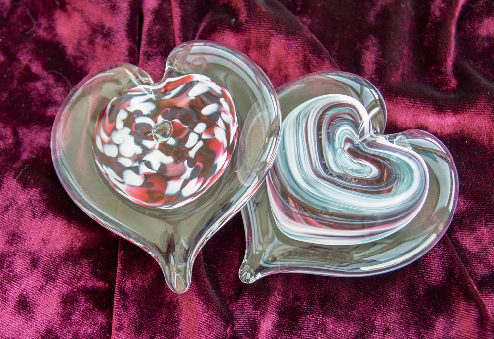 Wimberley Glassworks Glass Class Hearts