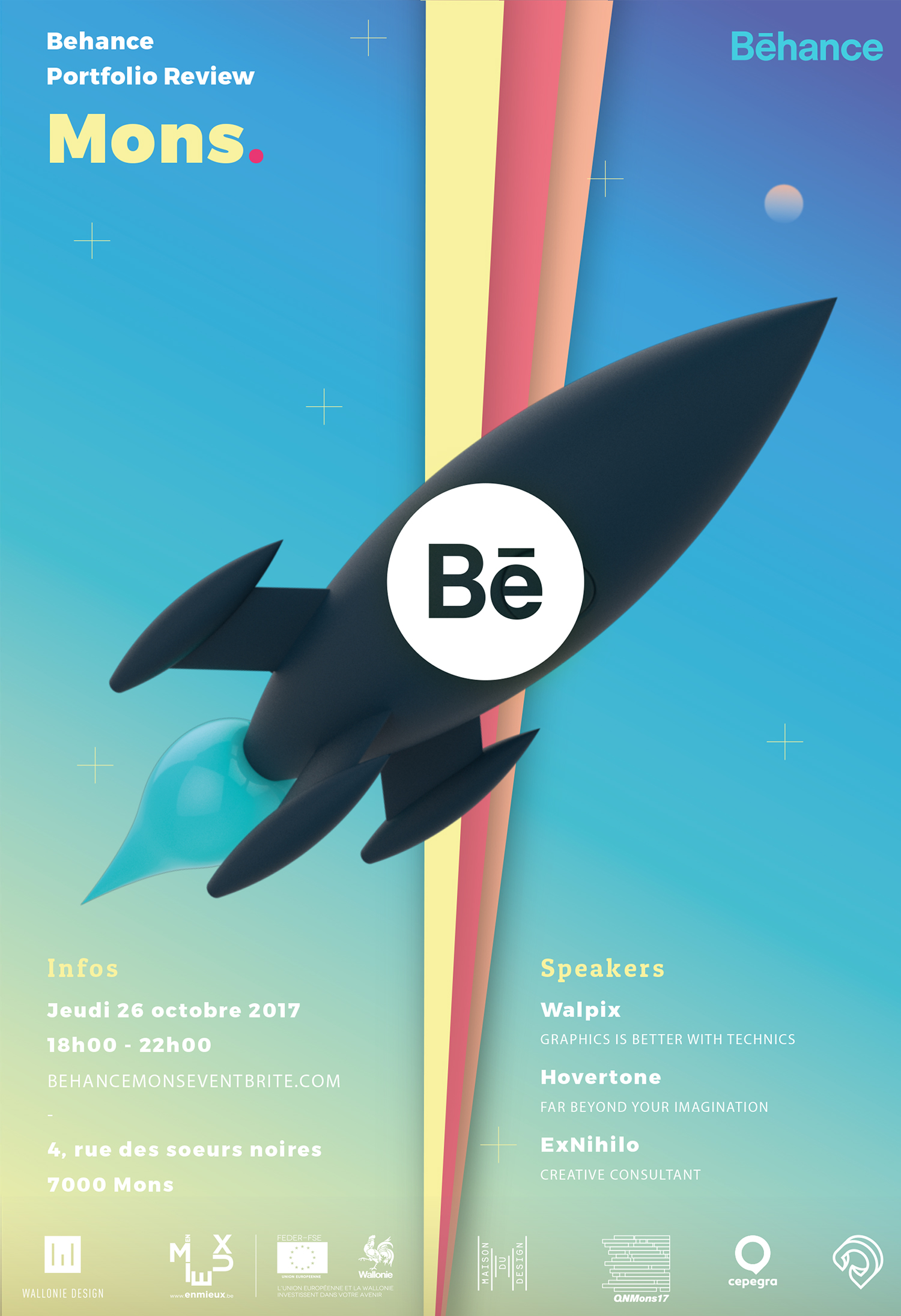 Behance Portfolio Review Mons
