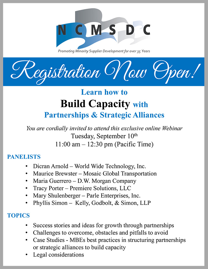 Learn how to Build Capacity with Partnerships & Strategic Alliances