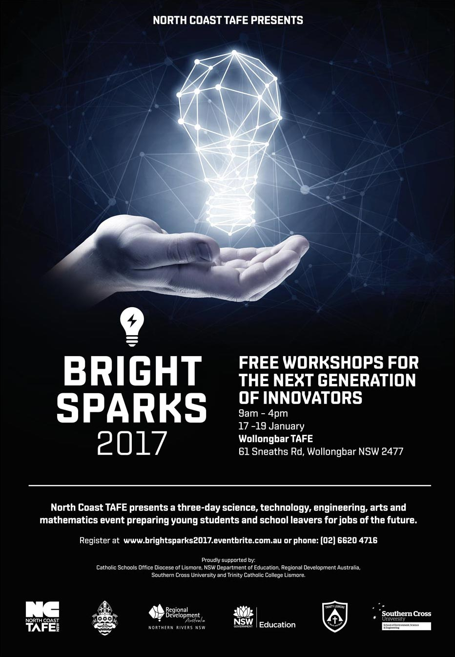 Bright Sparks Event Poster