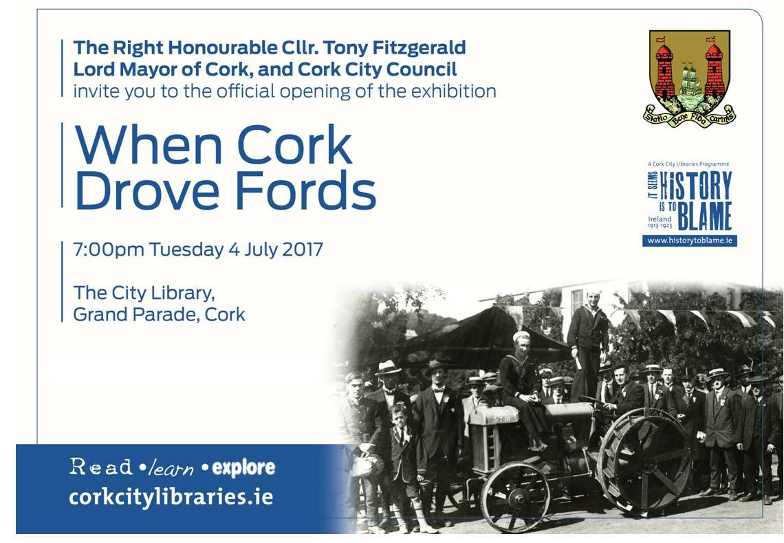 Ford exhibition flyer