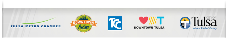 Synergy Sponsors - Tulsa Metro Chamber, Downtown Tulsa, TCC, City of Tulsa
