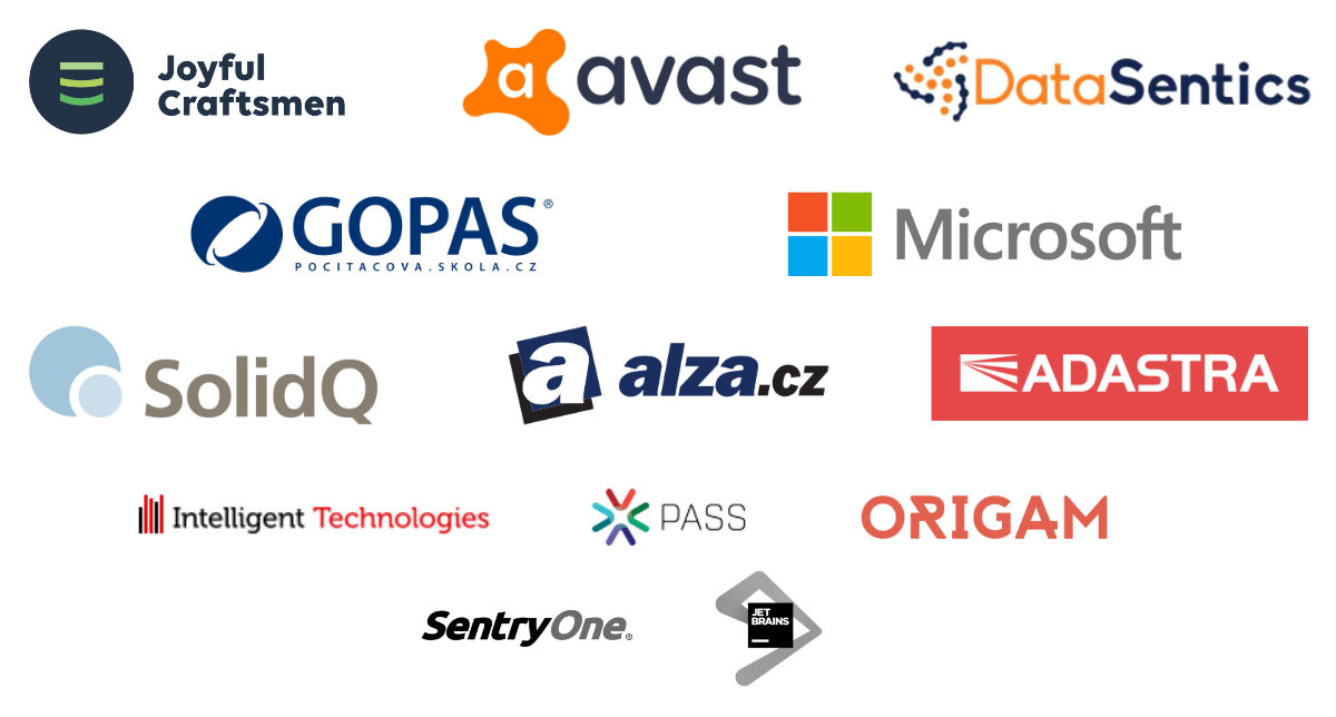SQL Satruday Prague 2018 sponsors
