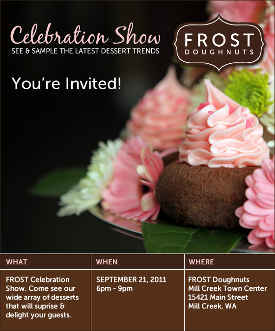 FROST Celebration Show - You're Invited!