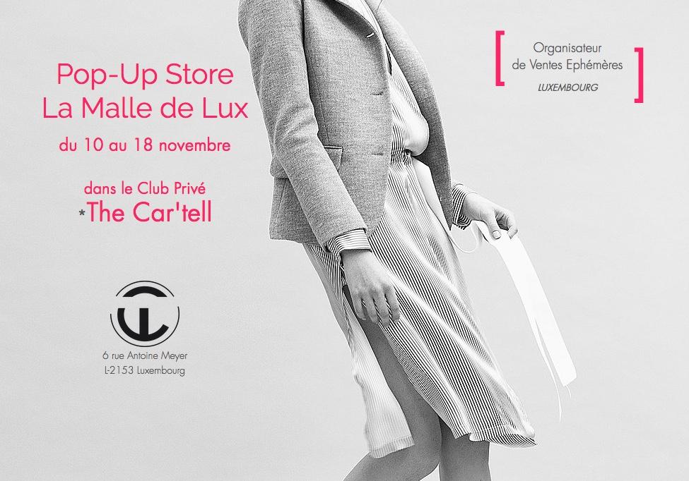 La Malle de Lux Pop Up Store