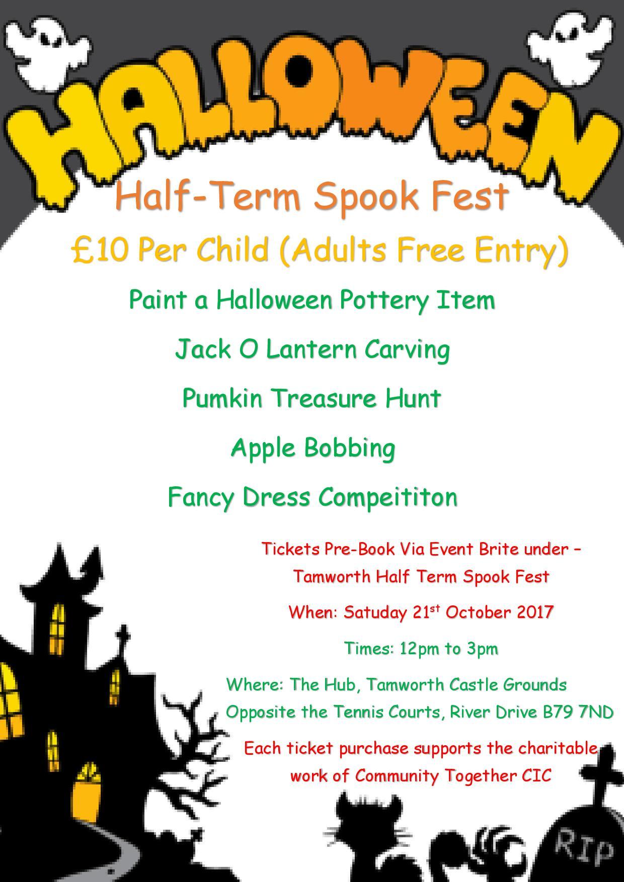Spook Fest Poster