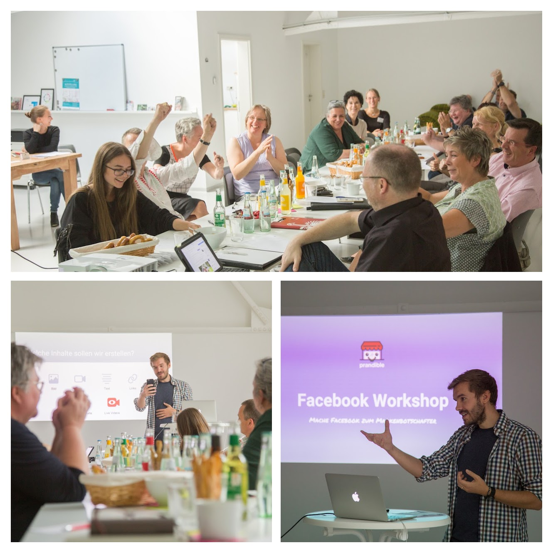 Der Facebook Workshop war beim ersten Mal ein toller Event