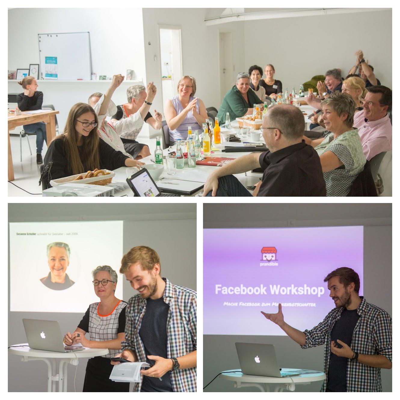 Facebook Workshop zwischen Düsseldorf und Köln