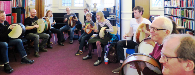 Bodhran Workshop London - Ruairi Glasheen