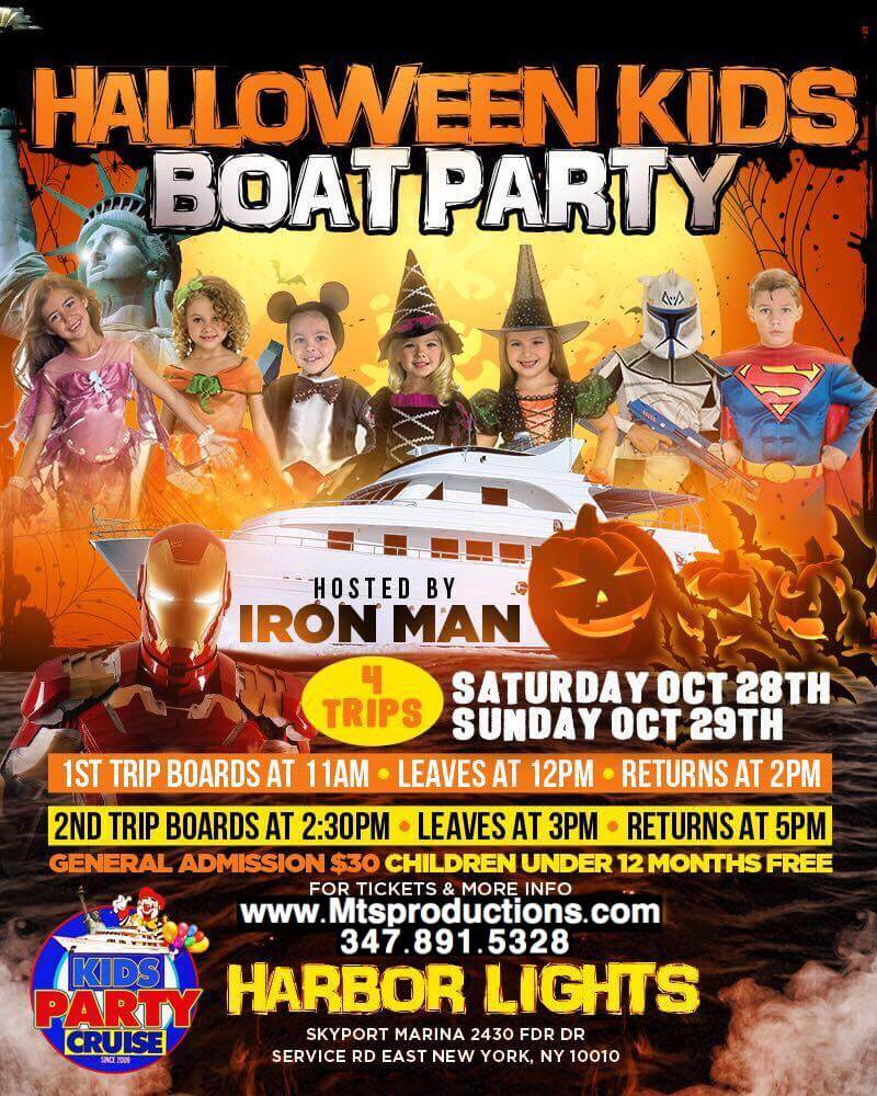 halloween kids party cruise