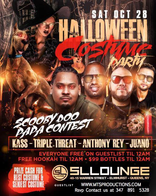 Halloween Party at SL Lounge Tickets, Sat, Oct 28, 2017 at 10:00 ...