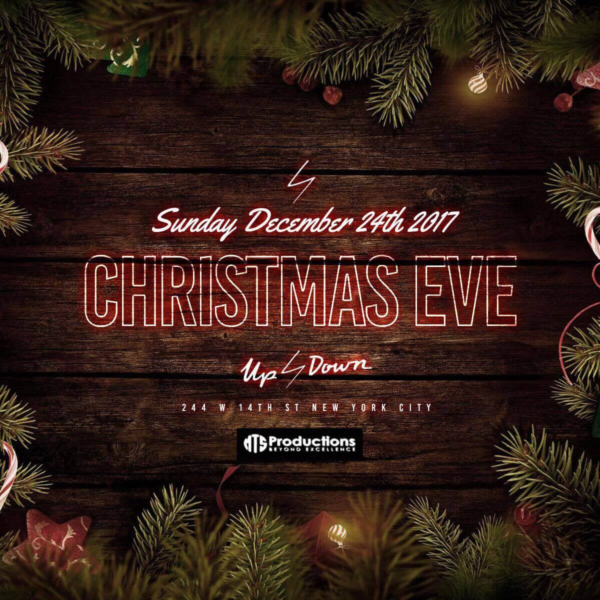 Christmas Eve at up & down